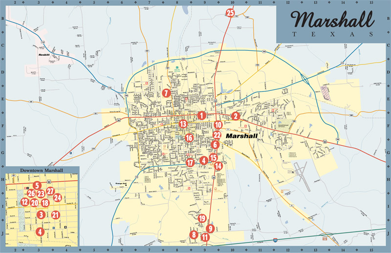 sc 1 st  Town Square Publications & Marshall TX online map